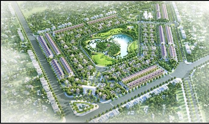 Quy hoạch tại khu đô thị Xuân An