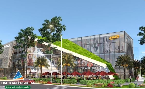 Trung tâm thương mại khu đô thị Xuân An